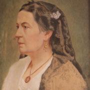 F. Lojacono, Ritratto della madre. acquerello